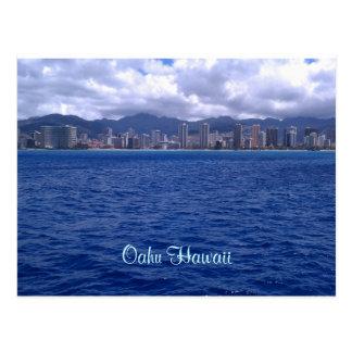 ¡De Hawaii que le deseaba estaban aquí! Tarjeta Postal