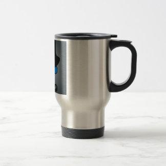 De hecho, caballero taza de café