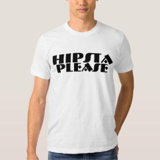 De Hipsta regalos por favor Camisas