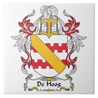 De Hoog Family Crest Tile