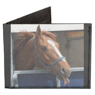 De Horsing caballo fresco de la castaña alrededor Billeteras Tyvek®
