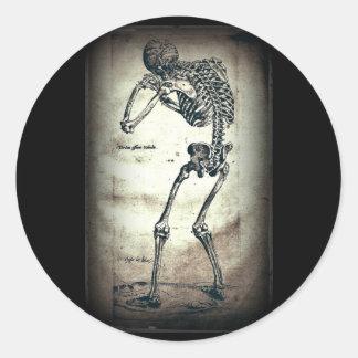 De Humanis Corporis Fabrica (1) VI, by Andreas Ves Classic Round Sticker