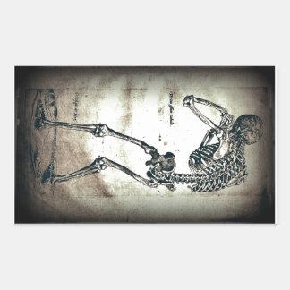 De Humanis Corporis Fabrica (1) VI, by Andreas Ves Rectangular Sticker