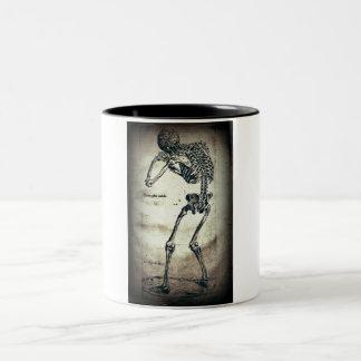 De Humanis Corporis Fabrica (1) VI, by Andreas Ves Two-Tone Coffee Mug