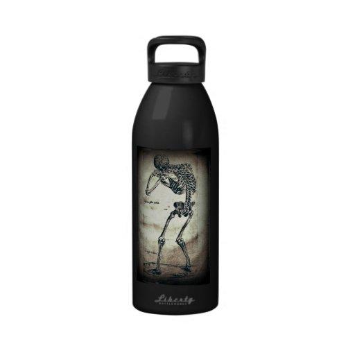 De Humanis Corporis Fabrica (1) VI, by Andreas Ves Reusable Water Bottle