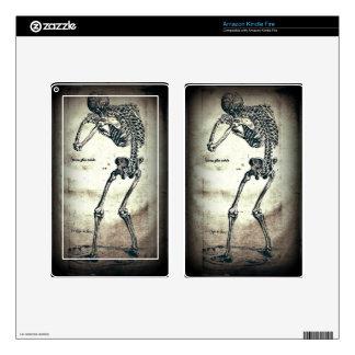 De Humanis Corporis Fabrica (1) VI, por Andreas Ve Kindle Fire Pegatina Skin