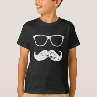 de incógnito - bigote y gafas de sol divertidos playera
