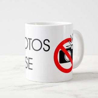 De incógnito taza de café grande