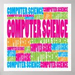 De informática colorido posters