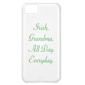 "De ""Irish.Grandma. caso diario del iPhone 5C todo  Funda Para iPhone 5C"
