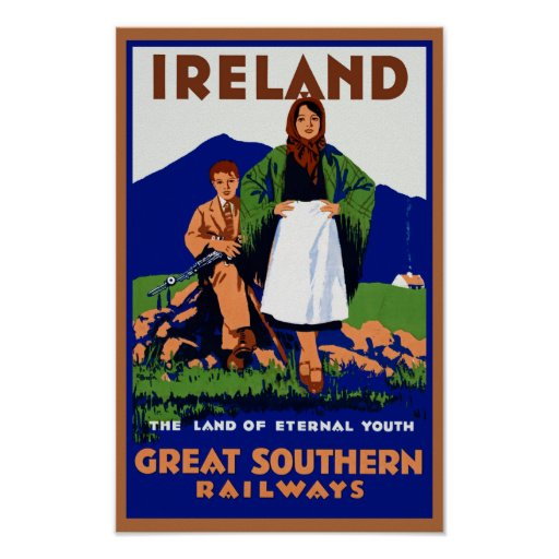 ~ de Irlanda la tierra de la juventud eterna Poster