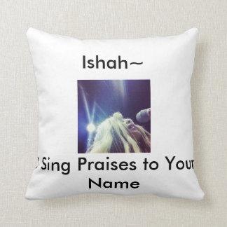 De Ishah Wright canto alabanzas a su almohada