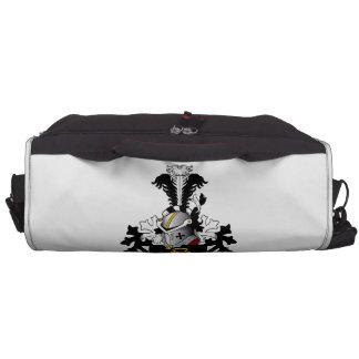 de Jager Family Crest Laptop Messenger Bag