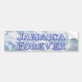 De Jamaica básico biselado para siempre - Pegatina Para Auto