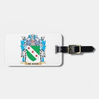 De-Jesus Coat of Arms - Family Crest Bag Tags