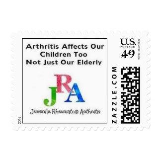 De JRA de la influencia del niño sello también