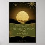 ~ de junio la Luna Llena céltica de los caballos Impresiones