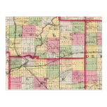 De Kalb, Ogle, los condados de Lee Tarjeta Postal