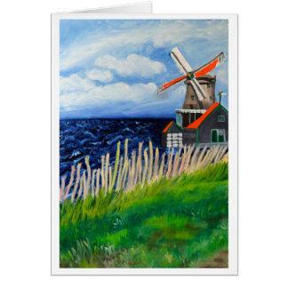 De Kat Windmill: Holland Card