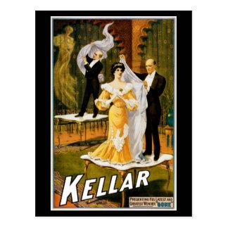 """~ de Kellar """"ido """" Tarjetas Postales"""