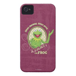 De Kermit verde siempre iPhone 4 Case-Mate Coberturas