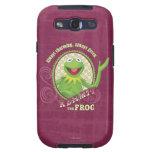 De Kermit verde siempre Galaxy S3 Funda