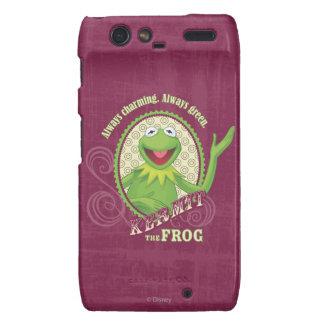 De Kermit verde siempre Motorola Droid RAZR Fundas