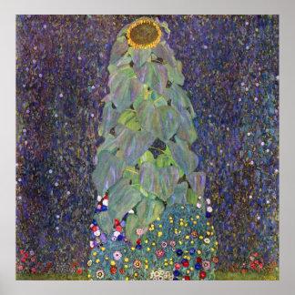 de Klimt que es Sonnenblume Impresiones