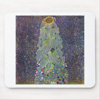 ~ de Klimt que es Sonnenblume Alfombrillas De Ratones