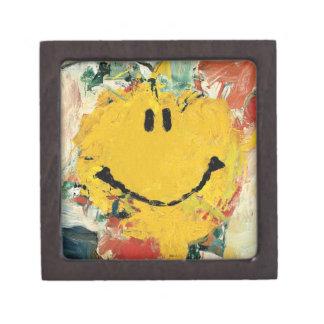 de kooning happy face gift box