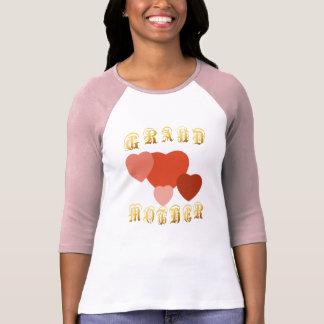 De la ABUELA de los corazones camiseta a montones
