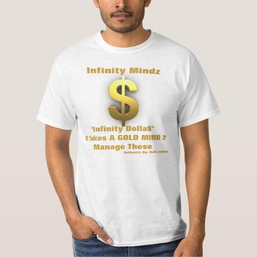 """de la """"anuncio mente del oro"""" del iMz Camisas"""