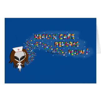 De la atención sanitaria de la reforma tarjeta de