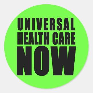 De la atención sanitaria productos universales aho pegatina redonda