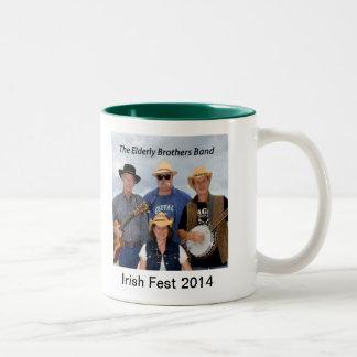 De la banda mayor de 2014 taza conmemorativa herma
