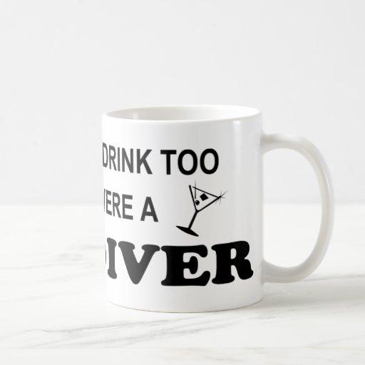 De la bebida buceador del cielo también - taza