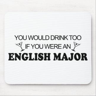 De la bebida comandante inglés también - mouse pads