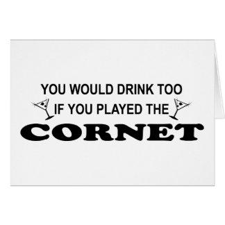 De la bebida cucurucho también - tarjetas