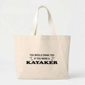 De la bebida Kayaker también - Bolsas