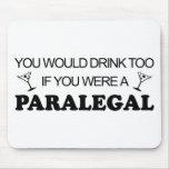De la bebida Paralegal también - Tapetes De Ratón