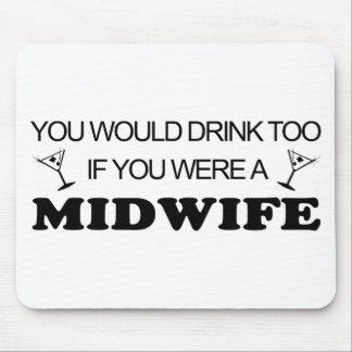 De la bebida partera también - mousepads