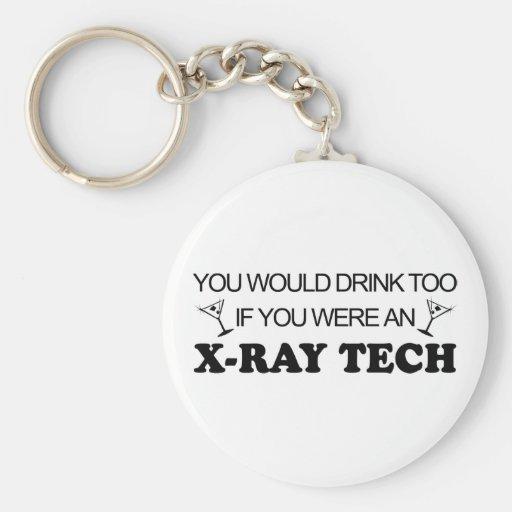 De la bebida tecnología de la radiografía también  llavero