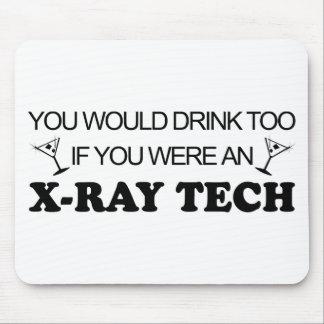 De la bebida tecnología de la radiografía también  tapetes de ratones