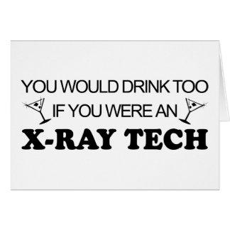 De la bebida tecnología de la radiografía también  felicitacion