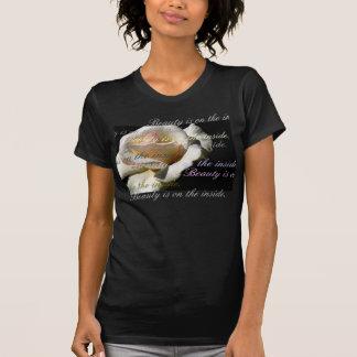 De la belleza top del interior encendido camisetas