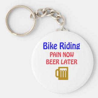 de la bici del montar a caballo del dolor cerveza llavero personalizado