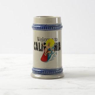 Dé la bienvenida a la onza Stein de la caloría 18 Jarra De Cerveza