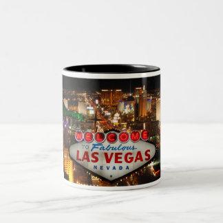 Dé la bienvenida a Las Vegas #2 Taza De Café