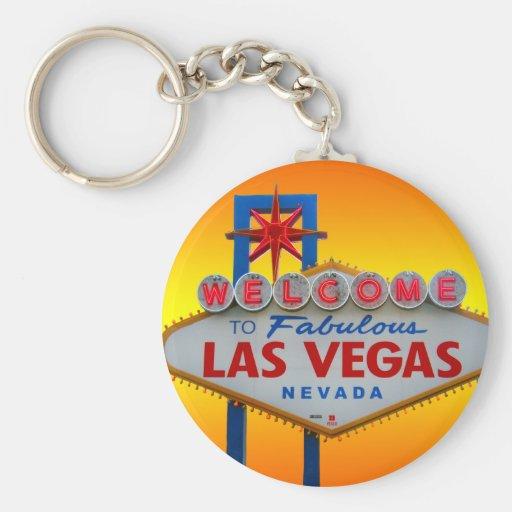 Dé la bienvenida a Las Vegas al llavero