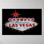 Dé la bienvenida a Las Vegas DSLR Poster